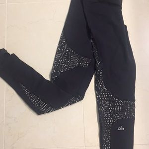 Alo laser cut legging